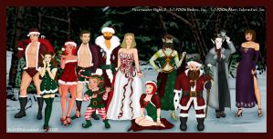 Neverwinter Nights2 Christmas by vick330