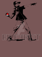 Banksy Pokemon by RileyRiot