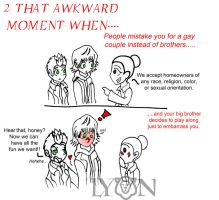 That Awkward Moment When...part 2 by TheDocRoach