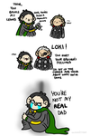 Thor broke my Legos by geothebio