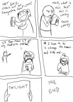 BEST? FANFICTION COMIC EVAR by COMICAL-NINJA