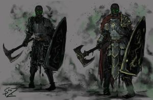 Plague Knights by Halycon450