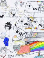 Nyan Death Note by NocturnalPanda19
