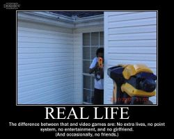Real Life -demotivation- by Dragunov-EX