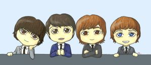 The Beatles by VML1212
