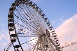 ferris wheel I by Polin-Sam