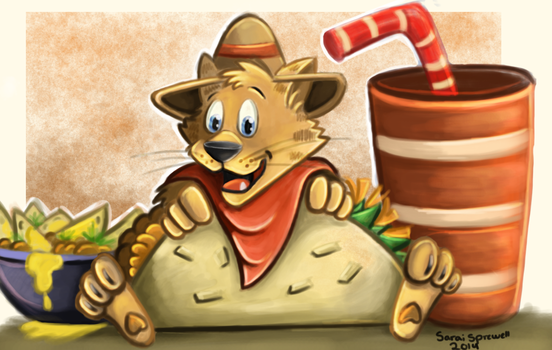 Taco Cat by theKatandtheBox