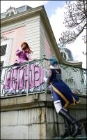Romeo x Juliet : balcony scene by Lumis-Mirage