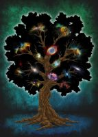 Universe in growth by adripan