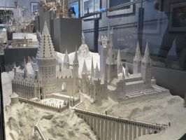 HARRY POTTER studio sets tour,white card model by Sceptre63