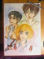 Threesome of SNK by McFearless1810