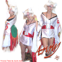 Ammy-chan: More Okami Cosplay by Gemini-Mystica