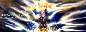 Saber Timeline Cover by tammypain