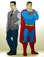Man And Superman by Jochimus