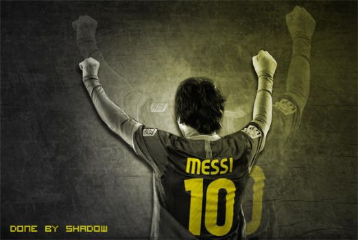 Lionel Messi by shadowchoper