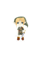 chibi link cg'd by Link-artist