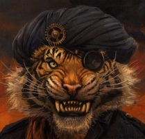 Shere Khan by kenket