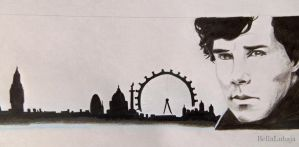 Sherlock - London by BellaLubaja