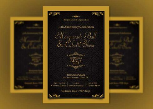 godserv – Ball Ticket Template