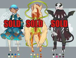 [CLOSED] Fantasy Adopts (#1 Avail.) by Valkymie