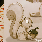 Squirrel! by patione