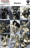 DC Comics Women of Legend Sketch Card Preview by RichardCox