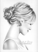 Dianna Agron by Hong-Yu