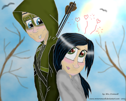 I'm in love with Oliver Queen!  by MrsCromwell