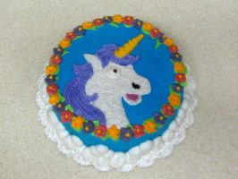 Fabulous Unicorn Cake by omgitsalisa