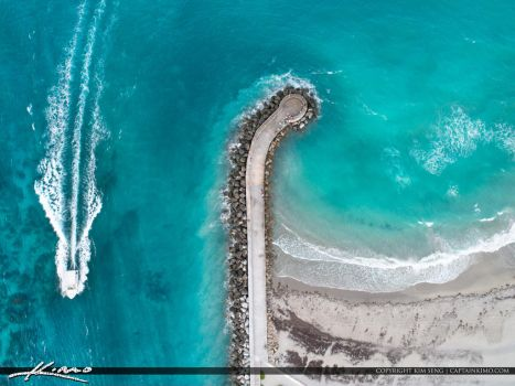Jupiter-Inlet-Looking-Straight-Down-from-the-Air by CaptainKimo