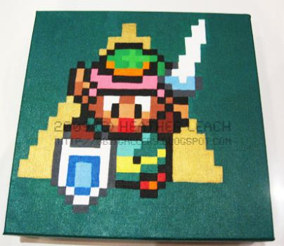 A Link to the Past -Link_sword by 8bitgallery