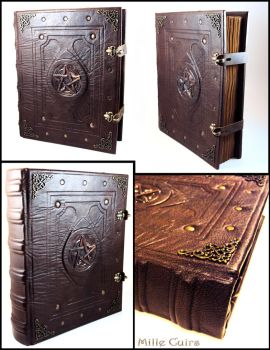 Livre des Ombres - Book of Shadows by MilleCuirs