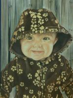 Prismacolor pencil drawing of a friend's daughter by prismacolorjessie
