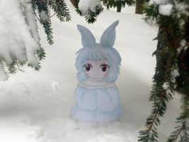 Paper Child Snow Rabbit 2 by ryu-yo