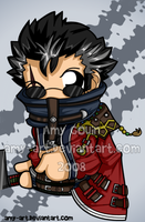 Auron - Final Fantasy 10 by amy-art