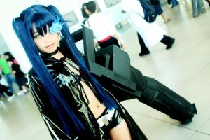 Black Rock Shooter II by ChinkyAiko
