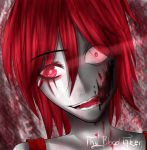 AT Red the Blood Taker by LouaSmourbif