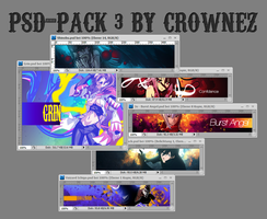 PSD Pack 3 by Crownez