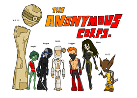 Anonymous Corps. by jagged-snail