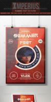 Summer Fest - V3 - Flyer Template - Imperius by ImperiusDesigns