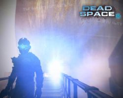 Dead Space 2 - Last scene by Dinnyforst