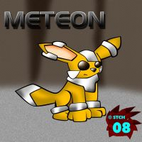 Meteon - Steel Eeveelution by Steel-The-Cat-Hog