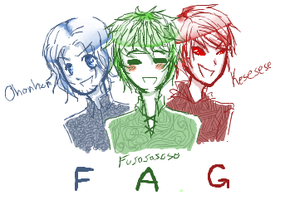 F.A.G. Doodle by BlackDiamond13