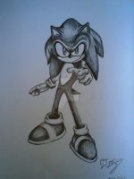 Sonic the Hedgehog by DreamWithinTheHeart