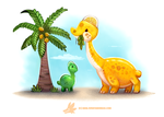 Daily Paint 1283. Sourapod by Cryptid-Creations