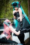 Vocaloid Hatsune Miku and Megurine Luka - Magnet by SharyNyanko