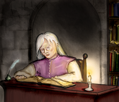 Rhaegar the scholar by Curtana