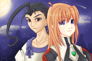 Xenogears Tribute by ladyriven