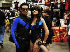 Nightwing and Nightwing by MiracleKata1