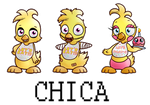 Chica the Chick by Koalacubes